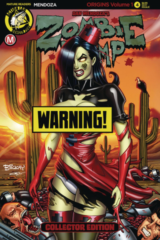 Zombie Tramp: Origins #4 (McKay Risque Cover)