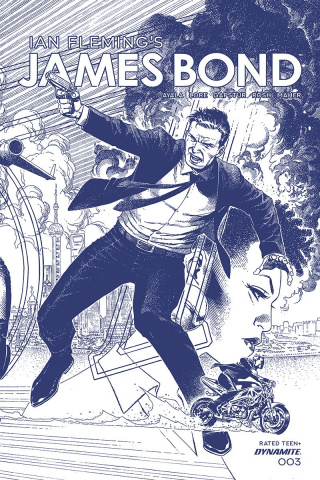 James Bond #3 (11 Copy Cheung Tint Dressed Cover)