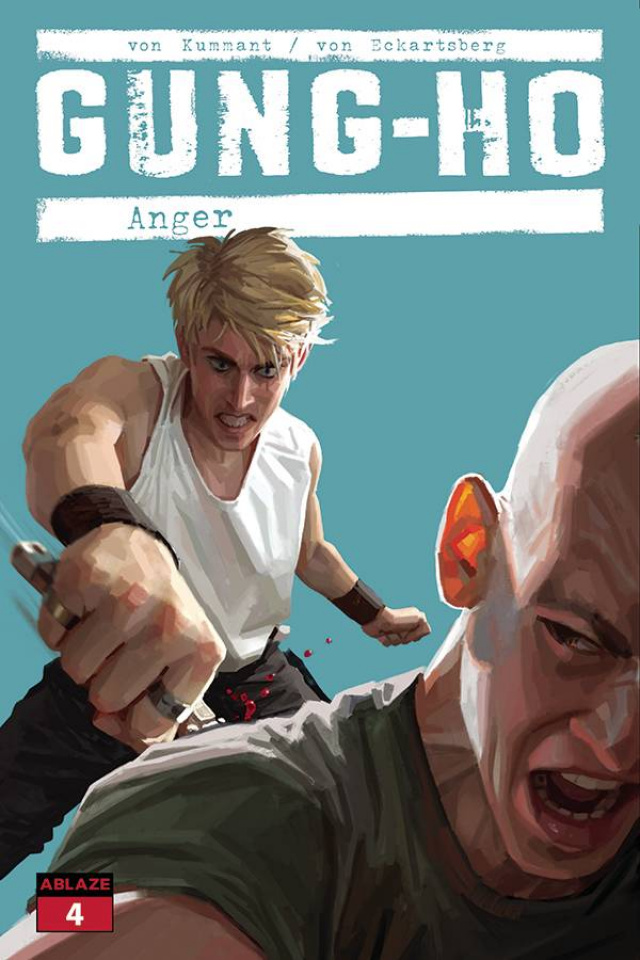 Gung-Ho: Anger #4 (Clarke Cover)