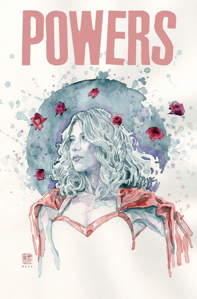Powers #8 (Mack Cover)