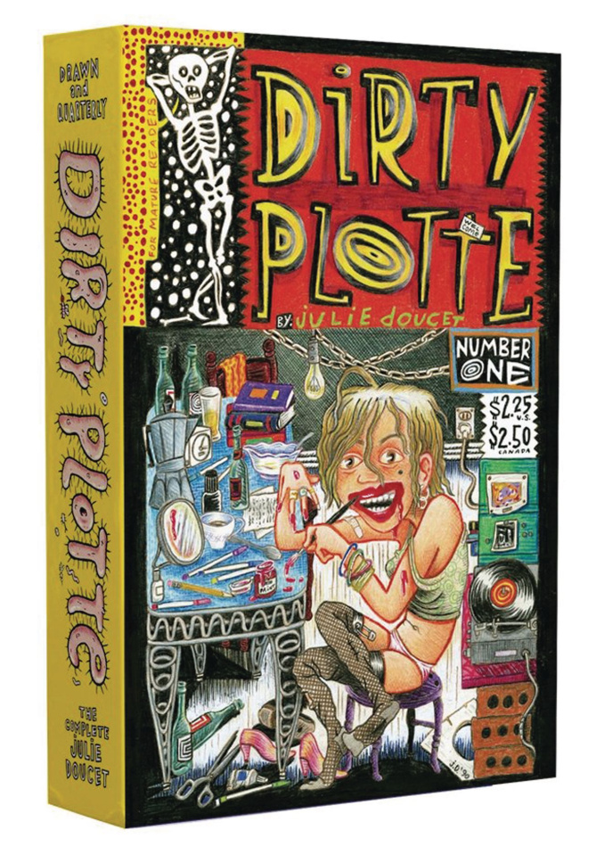 Dirty Plotte: The Complete Julie Doucet (Box Set)