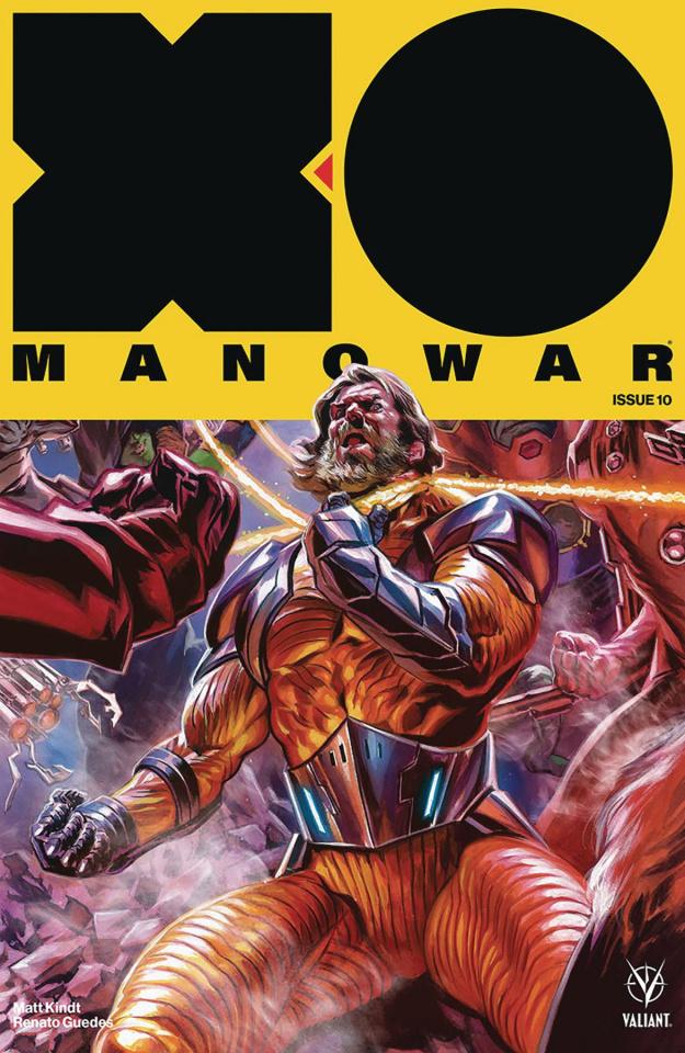 X-O Manowar #10 (50 Copy Massafera Cover)