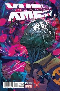 Uncanny X-Men #10 (Ward Death of X Cover)