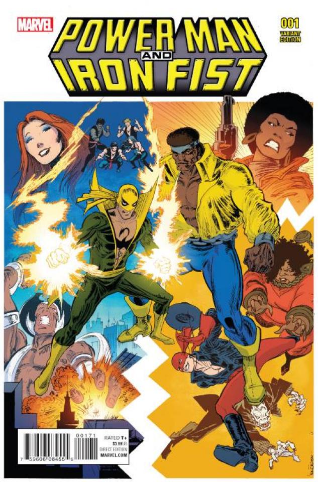 Power Man & Iron Fist #1 (Von Eeden Classic Cover)