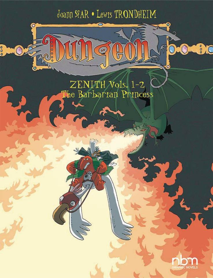 Dungeon: Zenith Vols. 1-2: The Barbarian Princess