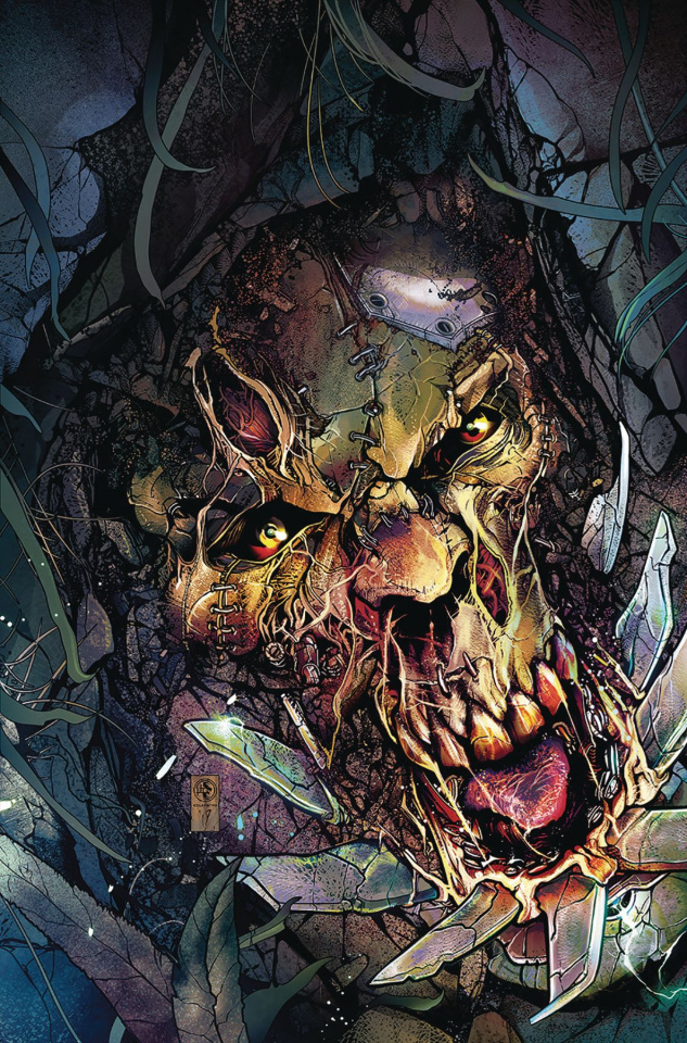 Van Helsing vs. The League of Monsters #1 (Colapietro Cover)