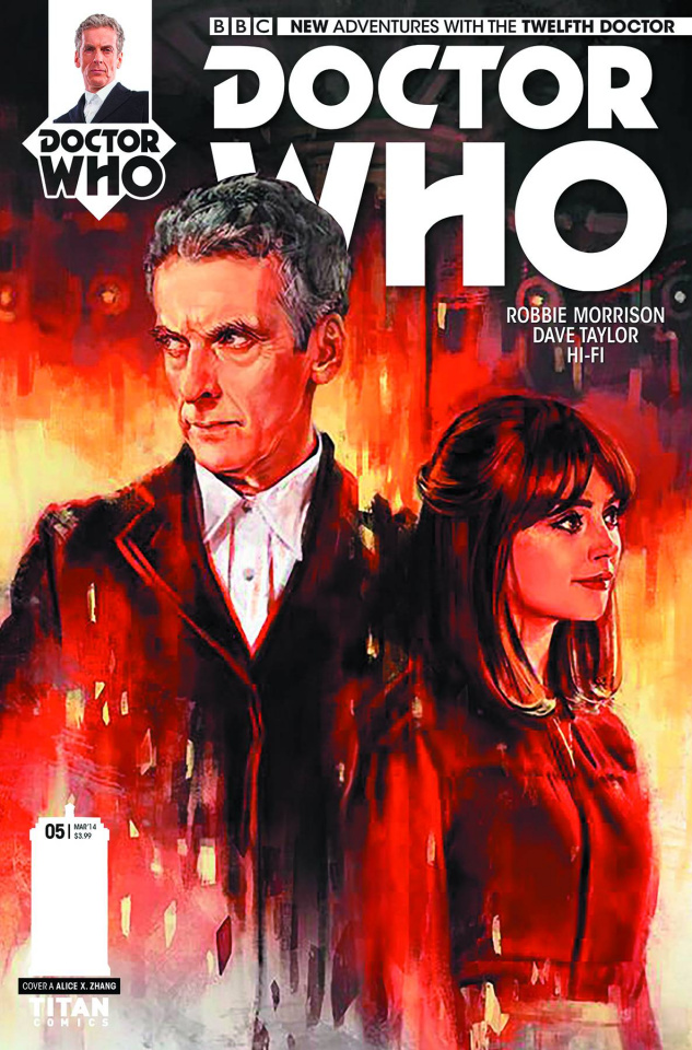 Doctor Who: New Adventures with the Twelfth Doctor #5 (Zhang Cover)