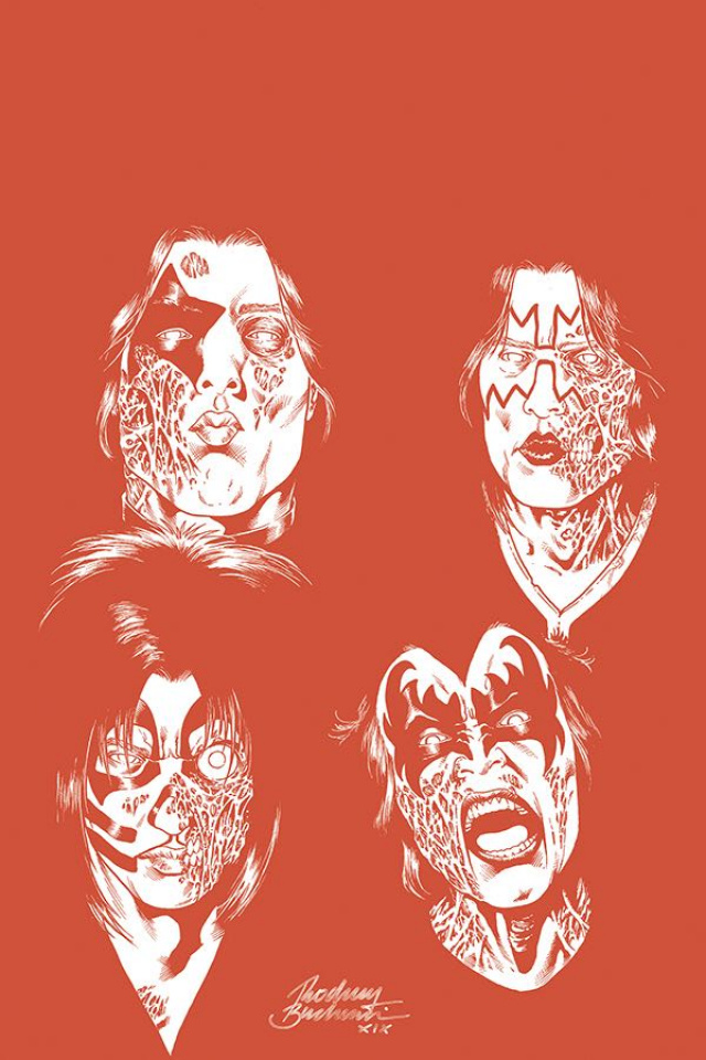 KISS: Zombies #3 (21 Copy Buchemi Tint Virgin Cover)