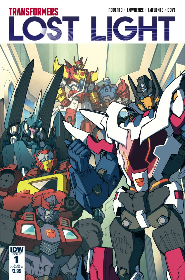 The Transformers: Lost Light #1 (Subscription Cover)
