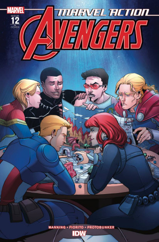 Marvel Action: Avengers #12 (10 Copy Vieceli Cover)