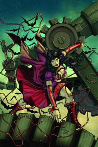 Legenderry: Vampirella #2 (Davila Virgin Cover)