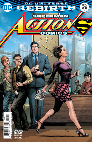 Action Comics #965 (Variant Cover)