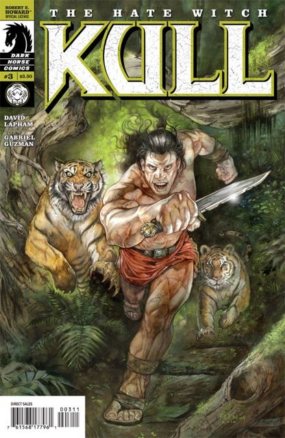 Kull: The Hate Witch #3 (Fleming Cover)
