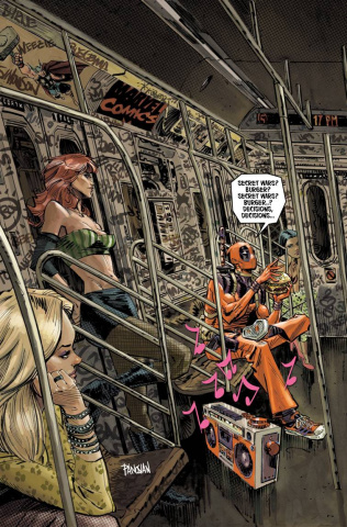 Deadpool's Secret Secret Wars #1 (Panosian Cover)