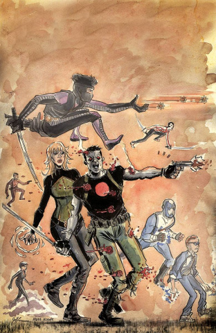 The Valiant #2 (20 Copy Lemire & Kindt Cover)