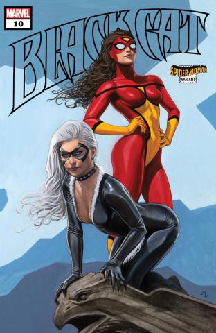 Black Cat #10 (Spider-Woman Granov Cover)