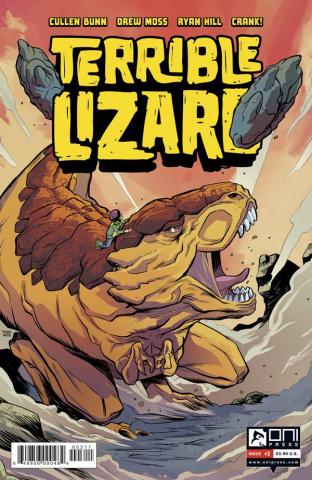 Terrible Lizard #3