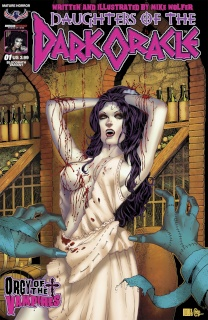 Daughters of the Dark Oracle #1 (Bloodbath Cover)