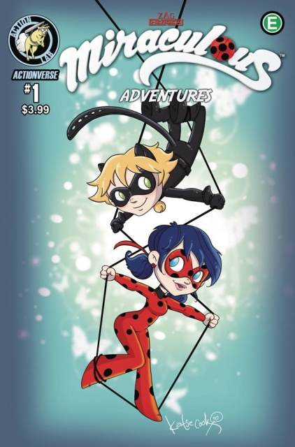 Miraculous Adventures #1 (Cook Cover)