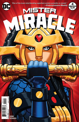 Mister Miracle #4 (2nd Printing)