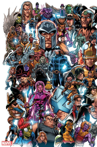 X-Men #1 (Bagley Every Mutant Ever Cover)