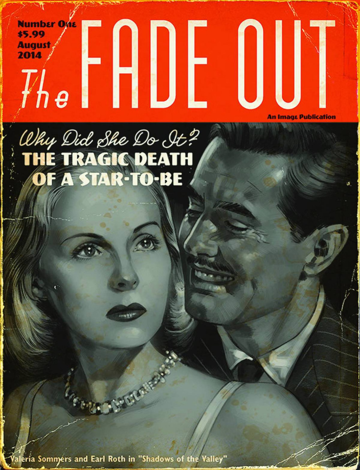 The Fade Out #1 (Movie Magazine Cover)