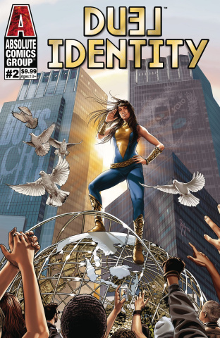 Duel Identity #2 (Gold Holographic Foil Cover)