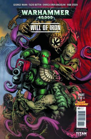 Warhammer 40,000: Will of Iron #2 (Bettin Cover)