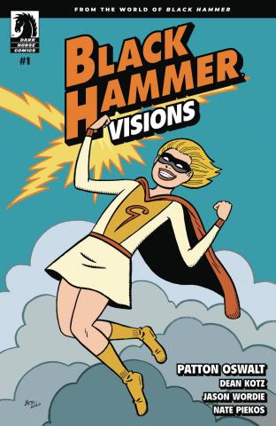 Black Hammer: Visions #1 (Hernandez Stewart Cover)