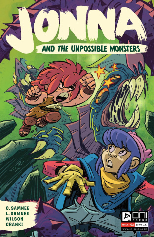 Jonna and the Unpossible Monsters #2 (Suriano Cover)
