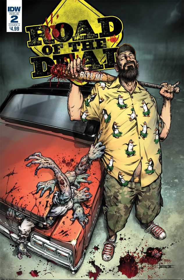 Road of the Dead: Highway to Hell #2 (Santiperez Cover)