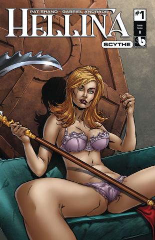 Hellina: Scythe #1 (Fetish Fashion Cover)