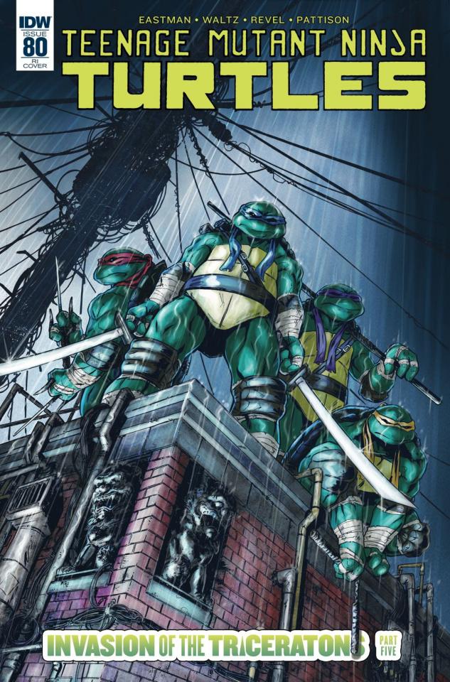 Teenage Mutant Ninja Turtles #80 (10 Copy Cover)