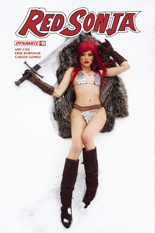 Red Sonja #19 (Cosplay Cover)