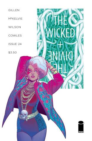 The Wicked + The Divine #24 (McKelvie & Wilson Cover)