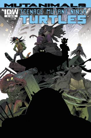 Teenage Mutant Ninja Turtles: Mutanimals #4 (Subscription Cover)