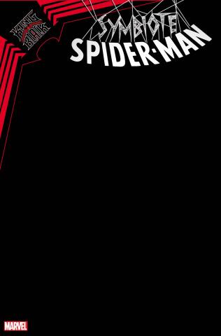Symbiote Spider-Man: King in Black #1 (Black Blank Cover)