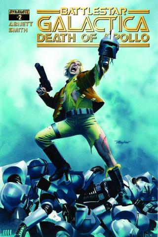 Battlestar Galactica: Death of Apollo #2 (Mayhew Cover)