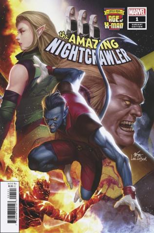 Age of X-Man: The Amazing Nightcrawler #1 (Inhyuk Lee Cover)