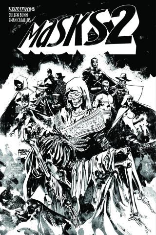 Masks 2 #5 (30 Copy Hardman B&W Cover)