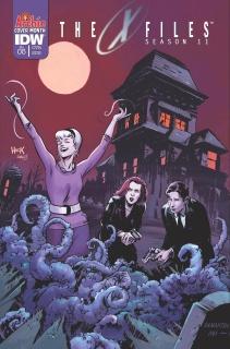The X-Files, Season 11 #5 (Archie 75th Anniversary Cover)