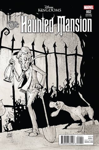 The Haunted Mansion #2 (Christopher Action Figure Cover)