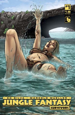 Jungle Fantasy: Survivors #1 (Water Nymph Cover)