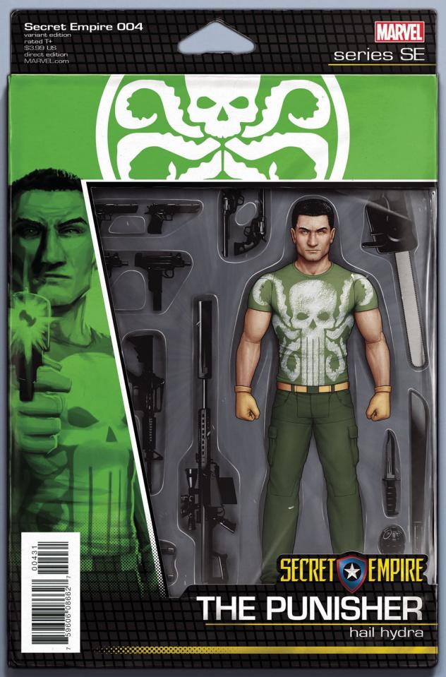 Secret Empire #4 (Christopher Action Figure Cover)