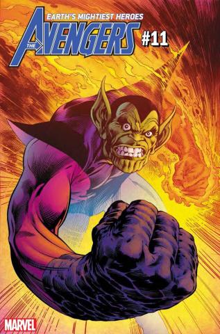 Avengers #11 (Davis Fantastic Four Villains Cover)