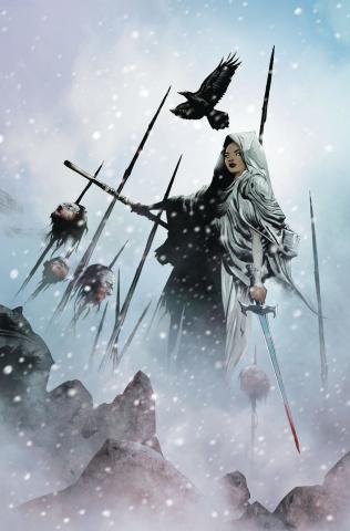Niobe: She Is Death #1 (Lee Virgin Cover)