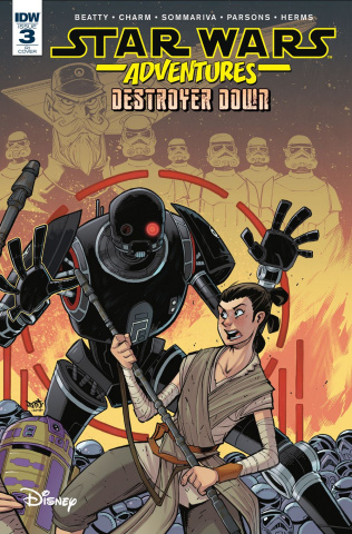 Star Wars Adventures: Destroyer Down #3 (10 Copy Cover)