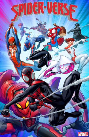 Spider-Verse #1 (Patrick Brown Cover)