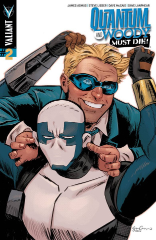 Quantum & Woody Must Die! #2 (20 Copy Grace Cover)