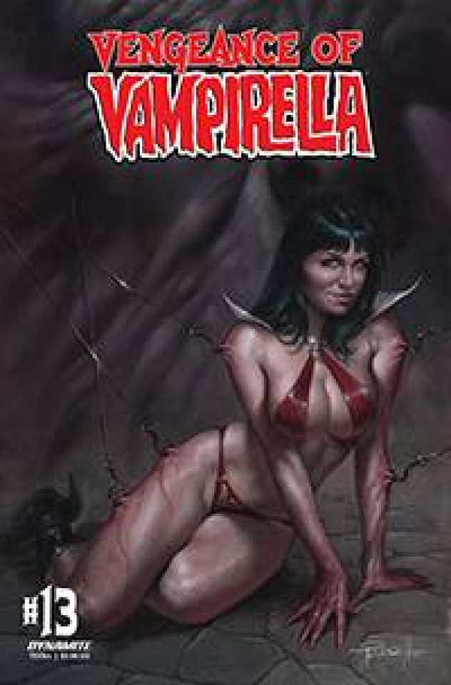 Vengeance of Vampirella #13 (CGC Graded Parrillo Cover)